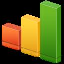 analytics bars chart graph seo statistics stats icon Las 10 mejores infografías sobre las redes sociales